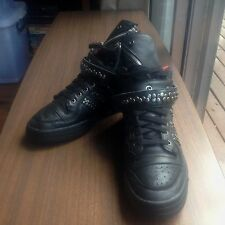 ADIDAS DIESEL FORUM LEATHER JACKET SNEAKER BOOTS AUTHENTIC SIZE US11 EUC