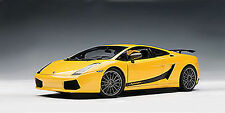 Autoart LAMBORGHINI GALLARDO SUPERLEGGERA YELLOW 1/18 Scale. Hard to find!