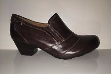 $110 NEW Sofft Women's Darrah Casual Dress Brown Comfortable Shoes Sz 6M