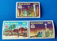 1994 Malaysia 100 Years of Electricity 3v Mint (Good Perforation at Se-tenant)