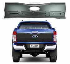 MATTE BLACK REAR BACK TAILGATE OUTER LID COVER TRIM FORD RANGER T6 MK2 2015-2016