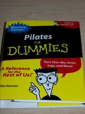 Pilates For Dummies Book mini HARDCOVER exercise yoga