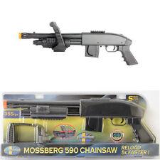 Mossberg M590 Chainsaw Spring Airsoft Shotgun 355 FPS