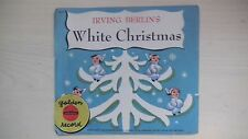 Little Golden Yellow Record Irving Berliln's WHITE CHRISTMAS 78rpm 1942