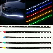 2pcs Waterproof 30cm Flexible LED Car Strips12V 5W Daytime Running lights red