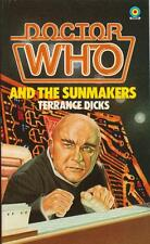 Dr Doctor Who and the Sunmakers  Target books. A great read!  Borderline vgc.