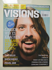 Visions 217 4/2011 inkl. CD Foo Fighters Radiohead Pearl Jam J Mascis The Kills