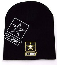 UNITED STATES ARMY MILITARY KNIT WINTER HAT/BEANIE/TOQUE - OSFM