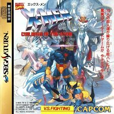 USED X-Men: Children of the Atom Sega Saturn SS Japan Import