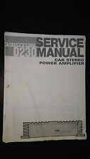 Proton d230 service manual Original Repair book car radio stereo amp amplifier c
