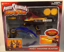 Power Rangers Ninja Storm - Ninja Thunder Blaster Disc Firing Action Aliens MISB