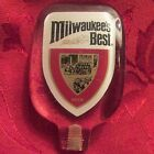 MILWAUKEE'S BEST BEER TAP HANDLE PULL KNOB HANDLE 1 TAPPER BREWERY VINTAGE