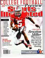 August 19, 2013 Braxton Miller Ohio State Buckeyes Sports Illustrated NO LABEL A