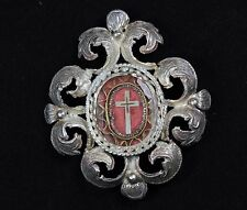 Holy True Cross Relic ANTIQUE Reliquary