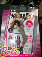 Barbie Style Mix and Match Lessons Black coat  accessories New in box
