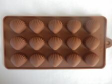 Silicone Sea Shells Mould Beach Wedding Cake Chocolate Icing Sugarcraft