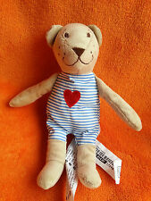 IKEA FABLER BJORN bear soft toy Love Heart Comforter Soft Toy 9""