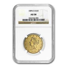 1895-O $10 Liberty Gold Eagle Au-58 Ngc - Sku #73496