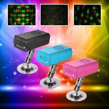 R&G Mini Projector DJ Disco LED Light Stage Party Laser Lighting Show Plug Xmas