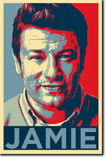 JAMIE OLIVER ART PHOTO PRINT (OBAMA HOPE) POSTER GIFT COOKING CHEF
