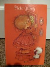 Hallmark Photo Gallery Album Vintage Mary Hamilton 1970's Book Dog Picture
