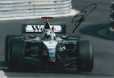 David Coulthard West McLaren Mercedes F1 Hand Signed 12x8 Photo 1.