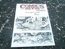 AUG 2011 COMICS REVUE vintage movie magazine (UNREAD - NO LABEL ) CORRIGAN