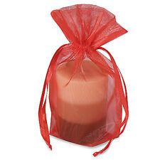 """Organza Gift Bag Favor Pouch Flower Pouch Present Bag 6"""" x 9"""" - 12PCS-FP5003"""