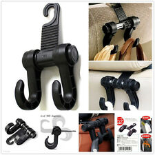 Black Car Truck SUV Back Seat Headrest Holder Hooks For Bags Grocery For Suzuki