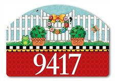 Yard DeSigns **Topiary Gate** by Magnet Works - Yard Art - Address Marker