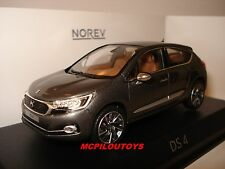 NOREV CITROEN DS 4 PLATINIUM GREY BLACK ROOF  2015 au 1/43°