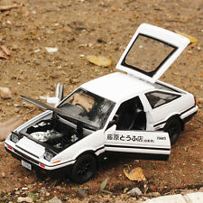 New 1:28 Alloy Diecast Initial D Toyota TRUENO AE86 Car Model Gift Sound & Light