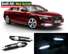 New LED Daytime Running Light For Audi A6 A6L C6 Car Fog DRL 2005 2006 2007 2008