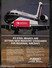 DELTA AIRLINES 1997 SKYWEST DELTA CONNECTION CANADAIR CRJ ABSC BRAKES AD