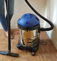 Wet and Dry Vacuum Vac 1000w 20L Litre Stainless Steel