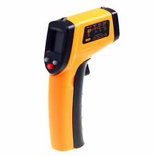 Neu Non-Contact Laser Infrared Thermometer Temperature Gun Pyrometer GM320