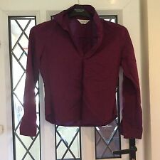 LADIES SIZE 10 TOP SHOP PURPLE BLOUSE. EXCELLENT CONDITION