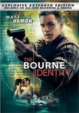 The Bourne Identity (DVD) Extended Edition FS