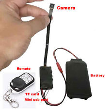1080P HD DIY Module Hidden Spy Cam Video Audio MINI DV DVR Motion w/ Remote SLAE