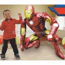 "Marvel Avengers Iron Man Fun Life-Size Jumbo Air Walker 57"" Foil Balloon"