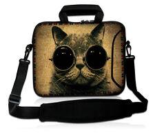 """17"""" Cat Shoulder Bag Handbag+ Pocket for 16/17/17.3/17.4 inch Laptop Notebook PC"""