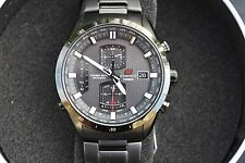 Casio EQWA1110DC-1A Edifice Black Label Atomic Solar Mens Watch NEW W/ Tag