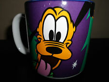 Disney Store Pluto Christmas Tree Mug EUC Holiday Cup
