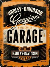 Harley Davidson Metal sign - Garage
