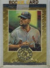 Albert Pujols 2001 01 Donruss Diamond King Silver Rookie Card RC RDK3 Angels