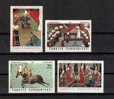 Türkei Michelnummer 2086 - 2089 postfrisch (Kunst 781)