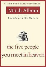 The Five People You Meet in Heaven Mitch Albom NEW PAPERBACK FREE SHIPPING
