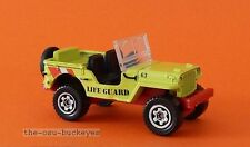 2014 Matchbox Loose 1943 Jeep Willys Life Guard Brand New Combine Shipping