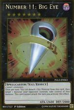 YUGIOH CARD  PGL3-EN063 NUMBER 11:BIG EYE    Gold  Rare -