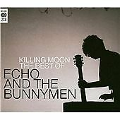 ECHO & THE BUNNYMEN 'KILLING MOON BEST OF E&TBM' 2 DISC CD ALBUM 2007